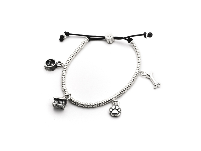 Product standard 4 charms bracelets 4 charms