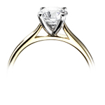 WRB Special Solitaire Diamond Engagement Ring