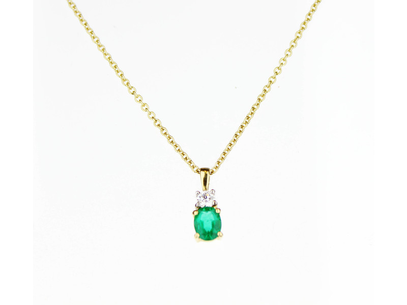 Product standard 18y emerald dia chain