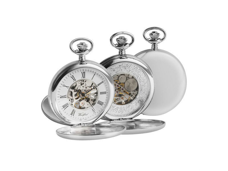 Woodfords full hunter pocket watch