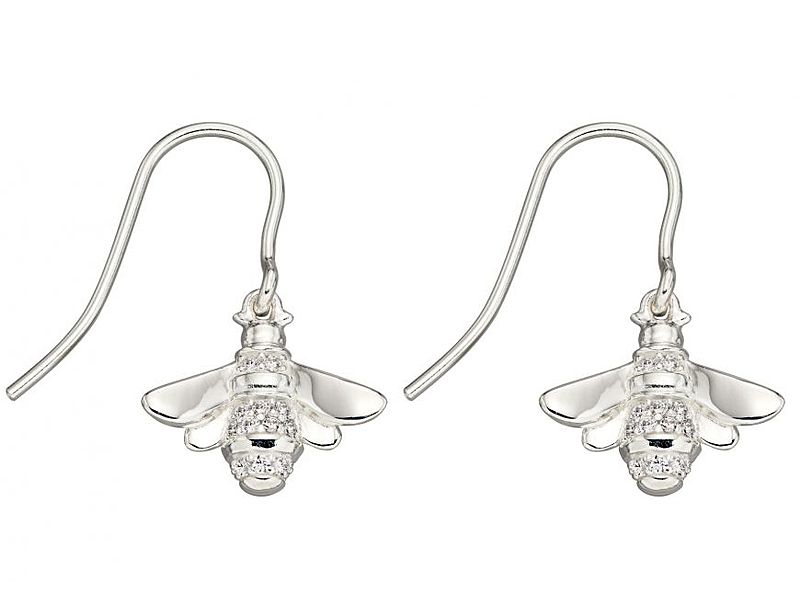 z1298_Cubic_Zirconia_Bee_drop_Earrings