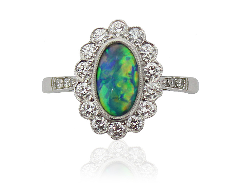 8140011_18ct_White_Gold_Black_Opal___Diamond_Cluster_Ring_