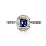 8122061_18ct_White_Gold_Emerald_Cut_Sapphire_and_Diamond_Halo_Cluster_Ring